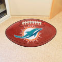 "Miami Dolphins Football Rug 22"" x 35"""