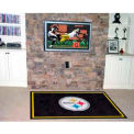 "Pittsburgh Steelers Rug 5 x 8 60"" x 92"""
