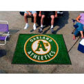 "Oakland Athletics Tailgater Rug 60"" x 72"""