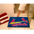 "St Louis Cardinals All-Star Rug 34"" x 45"""