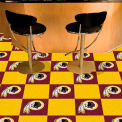 "Washington Redskins Carpet Tiles 18"" x 18"" Tiles"