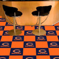 "Chicago Bears Carpet Tiles 18"" x 18"" Tiles"
