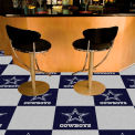 "Dallas Cowboys Carpet Tiles 18"" x 18"" Tiles"