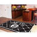 "Brooklyn Nets Rug 5 x 8 60"" x 92"""