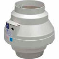 "Inline Centrifugal 8"" Duct Fan Molded Housing - 408 CFM"