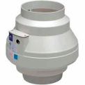 "Inline Centrifugal 8"" Duct Fan Molded Housing - 429 CFM"