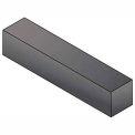 Keystock - 12 mm x 8 mm x 305 mm - C45K - Plain - Undersize - DIN 6880 - Pkg Qty 17