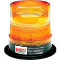 Federal Signal, Sentry, Halogen Beacon, 12 VDC, 95 FPM, Permanent Mount, Blue