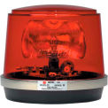 Federal Signal, Pulsator Model 451 Plus Strobe Beacon, 12-48 VDC, Permanent Mount, Red