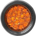 Federal Signal, Highlighter, LED Economy Mini-Lightbar, 12 VDC, Permanent Mount, Clear Dome/ Amber