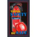 """Safety Extinguisher Mat - 36"""" x 60"""""""