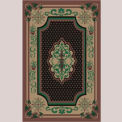 "Decor Mat - Oriental Chocolate 48"" x 72"""