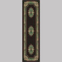"Decor Mat - Oriental Black 36"" x 120"""