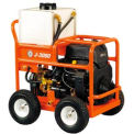 """General Wire JM-3080-A Gas Water Jet w/ 250'x3/8"""" Hose,Cart Reel Nozzle Set & Cleaning Tool"""