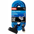 Carol 00790.63.07 10' Outdoor Powr-Center /#174; Extension Cord, 12AWG 15A/125V - Blue
