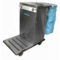 Escort RX™ Stainless Steel Housekeeping Cart W/ Vacuum Carrier