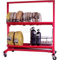 "Ready Racks™ Two-Tier Hose Cart - Holds Up to 1300' of 2-1/2"" Hose"