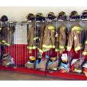 "Ready Rack® Wall Mounted Gear Storage Rack Locker NTWM-8/24 - Eight 24"" Sections, Chrome"