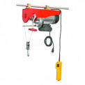 Powered Wire Rope Winch 1000 Lb. Capacity for Shop Crane™ Overhead Cranes