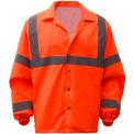 GSS Safety 7502, Class 3, Hi-Vis Windbreaker, Orange, XL