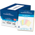 """Hammermill® Recycled Colored Paper 102120, 20 lbs, 8-1/2"""" x 11"""", Assorted, 500 Sheets/Ream"""