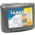 20' x 20' Medium Duty 6 oz. Tarp, Silver - S20x20
