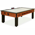 Washington Capitals Logo Air Hockey Table Cinnamon Finish