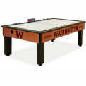 University Of Washington Logo Air Hockey Table Cinnamon Finish