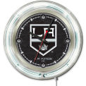 "Los Angeles Kings® Double Neon Ring 15"" Dia. Logo Clock"