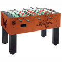 Washington Capitals Logo Foosball Table Cinnamon Finish