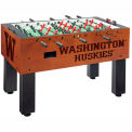 University Of Washington Logo Foosball Table Cinnamon Finish