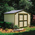 Handy Home Products Kingston Shed Kit, 8' x 8', W/Floor