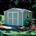 Handy Home Products Cumberland Shed Kit, 10' x 8', W/Floor