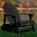 highwood® Folding & Reclining Adult Adirondack Chair - Black