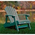 highwood® Hamilton Folding Adirondack Chair, Adult - Coastal Teak
