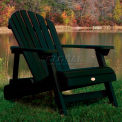 highwood® Hamilton Folding Adirondack Chair, Adult - Charleston Green