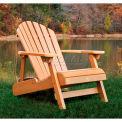highwood® Hamilton Folding Adirondack Chair, Adult - Toffee