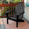 highwood® Classic Adirondack Beach Chair - Black