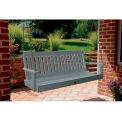 highwood® Lehigh 5' Wide Outdoor Porch Swing - Coastal Teak