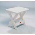 highwood® Folding Adirondack Side Table - White
