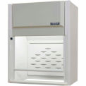 "HEMCO® CE Fume Hood W/Vapor Proof Light & Switch, 30"" X 24"" X 45"""