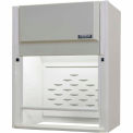 "HEMCO® CE Fume Hood W/Vapor Proof Light, Built In Blower & Switches, 48"" X 24"" X 45"""