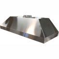 "HEMCO® Island Canopy Hood, Stainless Steel, 36""W x 24""D x 18""H"