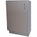 "HEMCO® Base Cabinet, 24""W x 22""D x 35-1/4""H, 1 Door, Silver Beige"