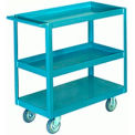 Three-Shelf Truck 17x34 Versa-Tech Wheels 600 lbs
