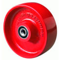 "Metal Wheel 6x3 1"" Tapered Bearing"