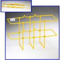 """Horizon Mfg. Yellow Binder Rack, 3002, 13-1/4""""L X 5""""W X 8-3/4""""H"""
