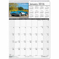 House of Doolittle™ Classic Cars Monthly Wall Calendar, 12 x 16-1/2, 2016