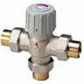 "Honeywell Sweat Union Mixing Valve AM101-US-1, AM-1 Series, 3/4"" Pipe, 100 To 145°F"