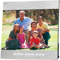 "Customized Frames - 5"" x 7"" Aluminum Photo Frame"